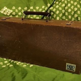 油絵道具箱、木箱