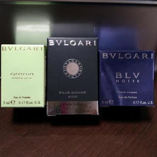 【未使用】BVLGARIミニ香水5ml
