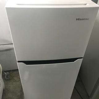 値下げ★美品★HISENSE★2ドア冷凍冷蔵庫★2016年製★