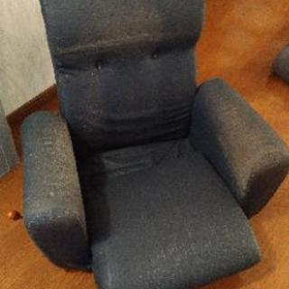 4月22日(日)まで。ひじ掛け付きリクライニング座椅子