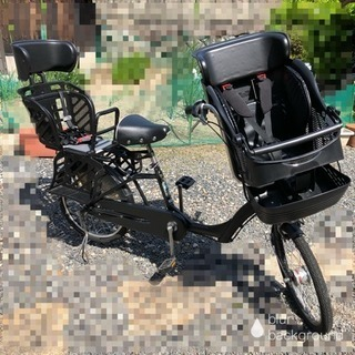 子供乗せ 3人乗り自転車