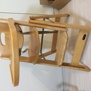 ベビーチェアー ミーブル付き スライドチェアNT-80