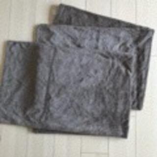無印良品 良品企画 枕カバー、抱き枕カバー 2枚セット Aの画像