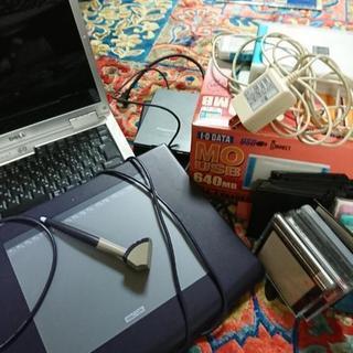 ノートパソコン、タブレット、MOドライブ、2HDドライブ×2
