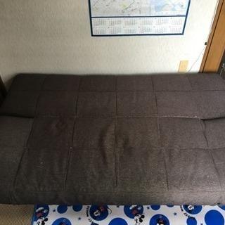 ソファベッド どなたか 0円で。