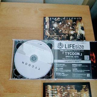 UVERworld TYCOON album 2DISCS