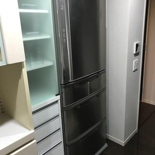 HITACHI 415L 5ドア冷凍冷蔵庫 2006年板橋区