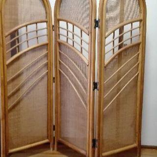 竹製 パーテンション