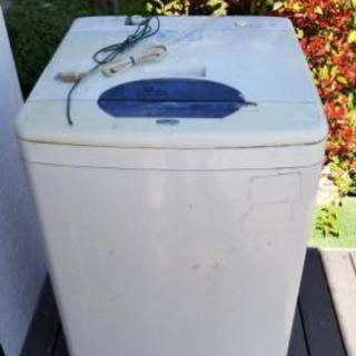洗濯機 古いですが普通に動きます 無料です