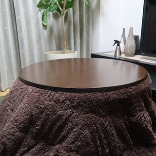 ■無印良品 こたつ(丸型)リビングテーブル