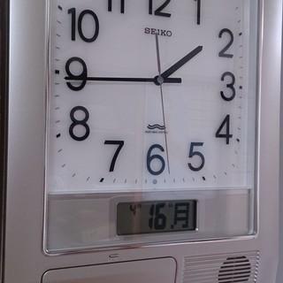 SEIKO 掛時計 PT 201S/電波クロック
