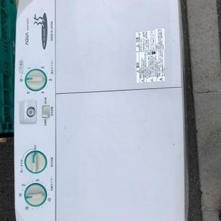 ❤️二層式洗濯機  ハイアール 2014年の画像