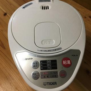 TIGER マイコン電動ポット 3.0L アーバンホワイトの画像