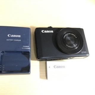 【美品】Canon S110  箱・ストラップ・替えバッテリー付きの画像