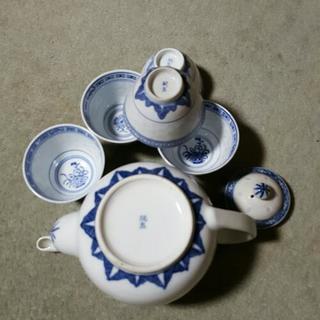 中国茶ポット&お茶碗5個セット − 東京都