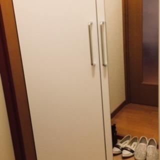 部屋に馴染むホワイトカラー!シューズボックス 収納ボックス - 大阪市