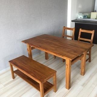 unico ダイニングテーブル & ベンチ - 長岡京市