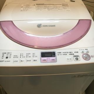 洗濯機(SHARP 2013年製)