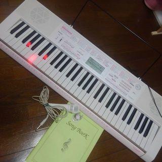 電子ピアノカシオ光ナビルーチェピンク🎵