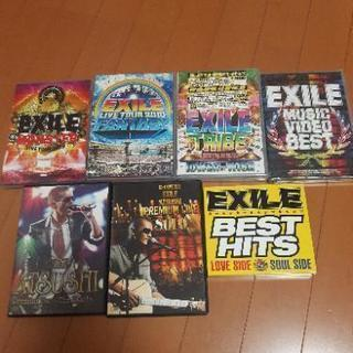 EXILE LIVEDVDセット 他