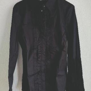 【お話し中】ZARA 黒シャツ 新...