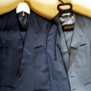 スーツ メンズ  「取引中になりました」