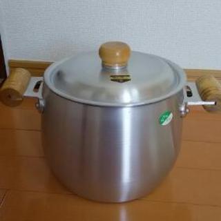 【値下げ】新品 アルミ厚手深鍋