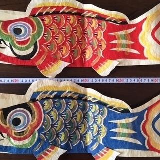 八尾和紙の鯉のぼり