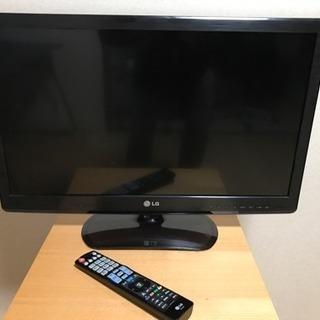 予約済    LG LED LCD カラーテレビ 26型