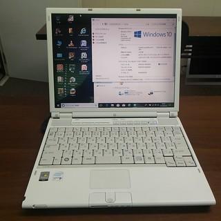 中古パソコン富士通MG55U  13インチ白★Windows10pro