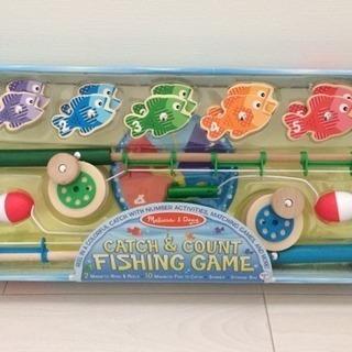 木製さかな釣り ゲームセット