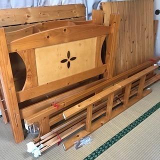 【譲渡済】宮付き2段ベッド