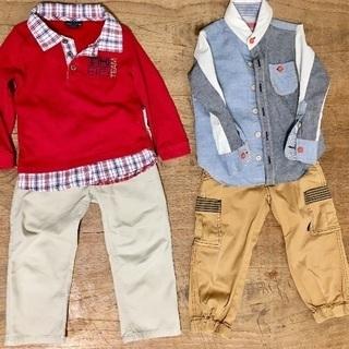 子供服 サイズ100 Tommy Hilfiger、hakka ...