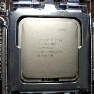LGA775 CPU Intel XEON E3110 中古 動...