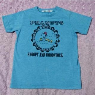 120 ユニクロ スヌーピー 半袖Tシャツ