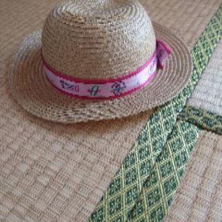 女の子麦わら帽子