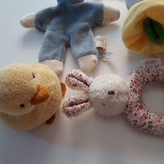 赤ちゃん♡ふわふわおもちゃセット