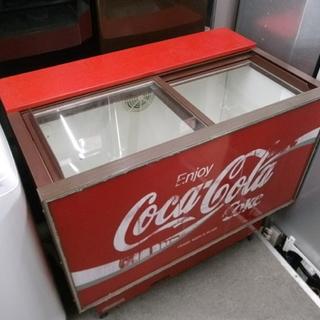 札幌市 レア コカ・コーラ オープンタイプクーラー 冷蔵庫 三菱...
