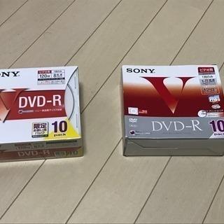ソニー DVD-R  未開封 開封済 セット インクジェットプリ...