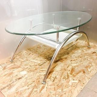 ガラスセンターテーブル LC020799