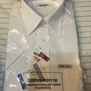 カッターシャツ 半袖 形状安定加工