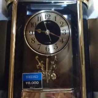 値引き  新品  クオーツ置き時計   回転振り子
