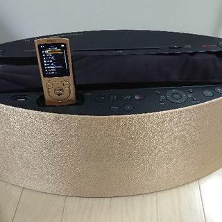 SONY ウォークマンNW-S765 ゴールド&ドックコンポ 合わせて5000円でお譲りします - 売ります・あげます