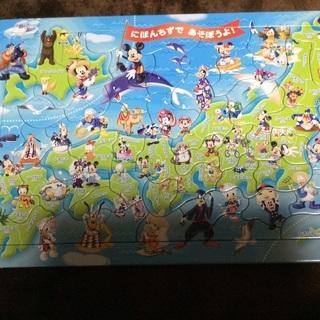 ディズニーの日本地図パズル