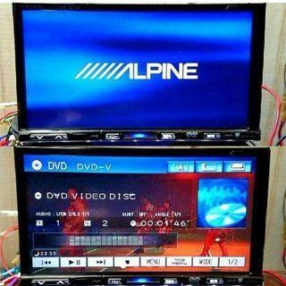 24日限定【ALPINE】HDDナビ 地デジワンセグ内蔵/DVD...
