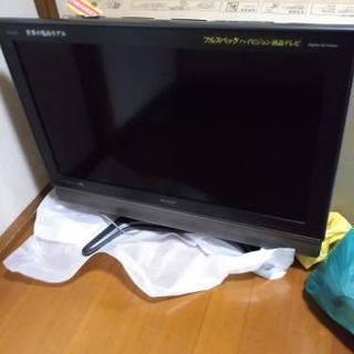 AQUOS 37型液晶テレビ ジャンク品