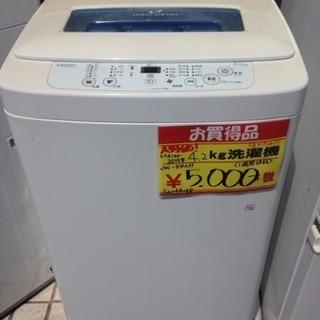 Haier 4.2Kg洗濯機 JW-K42H 2015年