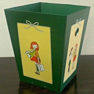 ★400円★可愛いイラストの多用途ボックス