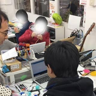 スマホで動かすロボット作りを体験しよう!!