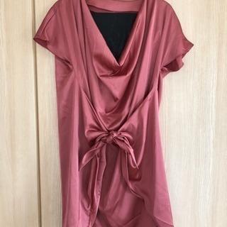 やわらかい雰囲気のドレス(チューブトップ付)